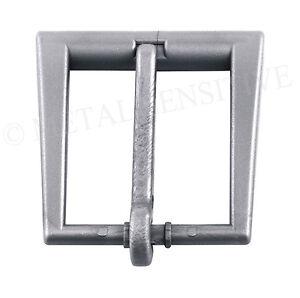 30MM Metal Free Belt Buckle Plastic Airport Friendly Nickel Allergy safe SILVER