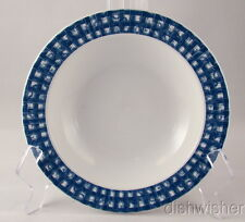 """Oneida China Tabletrends BLUE HEATHER Soup Bowl(s) 7 3/8"""" x 1 3/8"""""""