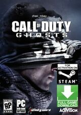 Call of Duty: Ghosts First Person Shooter (PC 2013) Steam Game (NO CD/DVD) FAST