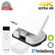 Selfsat SNIPE 4 Single mit BT Fernbedienung - Vollautomatische Camping Antenne