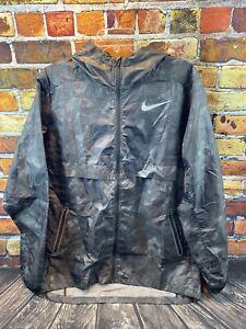 RARE NWT Nike Shield Ghost Flash JDI Reflective Full Zip Running Jacket  Large