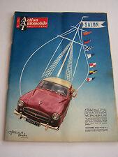 L 'ACTION AUTOMOBILE ET TOURISTIQUE DE octobre  1955 . SPECIAL SALON .