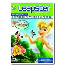 Leap Frog LEAPSTER DISNEY FAIRIES Learning Game - Leapster 1 & 2 (4-7 years)