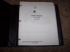 John Deere 824J 824 J Loader Parts Catalog Manual Book PC9243