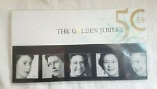 NEW The Golden Jubilee - Fiftieth Anniversary of the Queen's Accession  Stamps