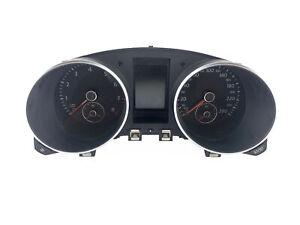 2010-2011 Volkswagen Golf GTI Speedometer KPH Instrument Cluster 5K6920 870D OEM