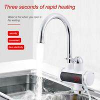 220V Digital Display Electric Water Heater Tap Instant Hot Water Heater Faucet