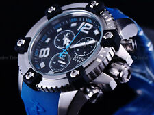 Invicta Men Reserve 48mm MidSize BLU Octane Arsenal Swiss Made ETA Chrono Watch