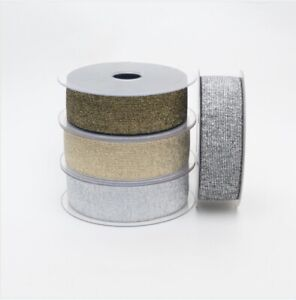 LUREX ELASTIC 40MM DRESSMAKING/CRAFTS-VARIOUS COLOURS SOLD IN 1 METRE LENGTH