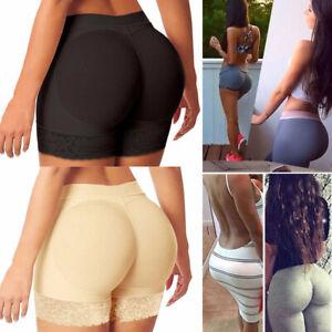 Damen Hip Enhancer Shaper Butt Lifter Push Up Slips Bottom Gepolsterte UnterHose