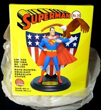 DC Comics Superman Issue #14 Cold-cast Porcelain Statue New Full Size