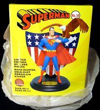 DC Comics Superman Issue #14 Cold-cast Porcelain Statue New Full Size