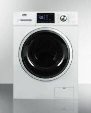 """Summit Spwd2202W 24"""" Washer and Dryer Combo"""