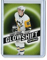 2018-19 Upper Deck Synergy Hockey Glow Shift Sidney Crosby G-8