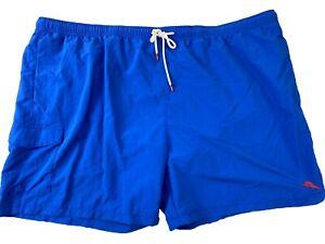 Tommy Bahama Men's Swim Trunks Size 4XLB Big Santorini Blue Naples Coast New