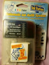 Easy Ink Refill System from Ink Station Tri Color Refill HP 28 / 57 Cartridges