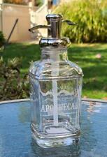 NEW Dr H Gnadendorff Soap Lotion Pump Dispenser Apothecary Silver