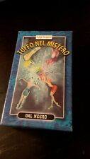 Tarot TUFFO IN MISTERO 62 Cards Editions DAL NEGRO New SEALED