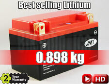 JMT Lithium Motorcycle Battery - YTX14H - Piaggio MP3 250  - 2007 - 2009