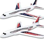 """2pk 20"""" Airplanes, Outdoor Kids Toys, Large Foam Gliders Dual Flight Mode Planes"""