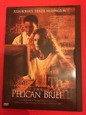 The Pelican Brief (DVD, 1997) - Like New Julia Roberts Denzel Washington