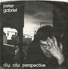 Peter Gabriel - D.I.Y. original 1978 Irish pressing 7 inch vinyl single
