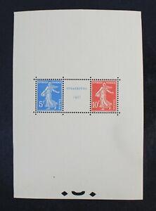 CKStamps: France Stamps Collection Scott#241 Mint H OG Side Trimmed