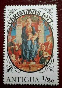 Antigua:1977 Christmas ½ C. Rare & Collectible Stamp.