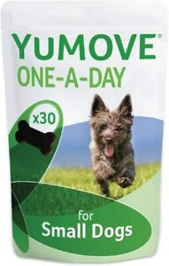 Lintbells YuMOVE ONE A DAY for Small Chewies For Dogs Essential Hip and Joint 30