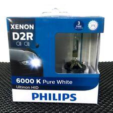 PHILIPS Ultinon HID D2R Headlight 6000K White 85126WXX2 Bulb 2/Pk GERMANY #EWgtc