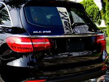 Mercedes X253 GLC SUV Chrome Boot Trunk Lid Trim