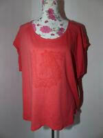Neues BURTON T-Shirt Damen Oberteil Shirt Gr.M Tropic Weit Geschnitten Oversize