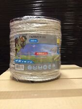 """FARMER R6"", Rope 6mm by 200m - White"