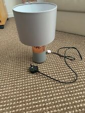 modern grey table lamp