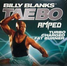 Billy Blanks Taebo Turbo Charged  DVD,FREE SHIP! Fat Burn Look Great! Workout!