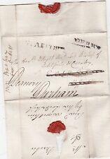 * c.1800 DERBY FREE >BISHOP OF LICHFIELD & COVENTRY REDIRECTED STAFFORD > DURHAM