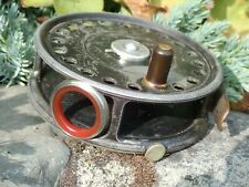 Hardy Bros.Prewar  St. George 3 3/4 Fly Reel with Red agate