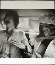THE ROLLING STONES POSTER PAGE 1971 MICK JAGGER & BIANCA WEDDING DAY . Y33