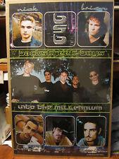 Backstreet boys Into the millenium original 1999 Vintage Poster 515