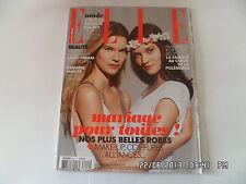 ELLE N°3499 18 JANVIER 2013 VICTORIA TUAZ JOHANNA S SPECIAL MARIAGE