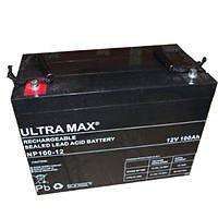 Ultramax 12v 100ah NAUTICAS AGM / Batería de GEL COCHE Sistema de audio