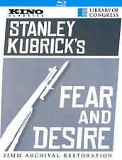 Fear & Desire~Stanley Kubrick  (Blu-ray) NEW  **Free Shipping**