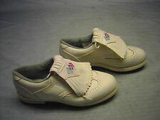 Ladies Foot-Joy Golf Shoes White/Blue Trim Heel 7 1/2 M Green-Joys