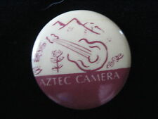 Aztec Camera-Band Music-New Wave-Pin Badge Button-80's Vintage-Rare