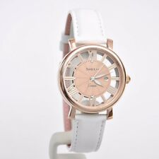 """Casio Sheen Bright """"Vitamin Color"""" Leather Strap Ladies Watch SHE-4047PGL-7A"""