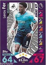 2016 / 2017 EPL Match Attax Away Kit (376) Leroy FER Swansea