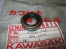 KAWASAKI ENGINE OIL SEAL H1 MACH KH500 KH-500 1969-1976 AHRMA NOS OEM 92049-008