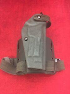 SAFARILAND Drop Leg Holster Green Right Hand Single Strap Glock 6005-173 Ber 92