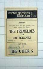 1967 The Tremoloes And The Vigilantes At The Winter Gardens Penzance