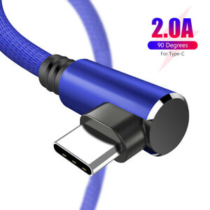 2A USB Type C Charger Data Cable Fast Charging For Huawei P30 Pro Samsung S10+